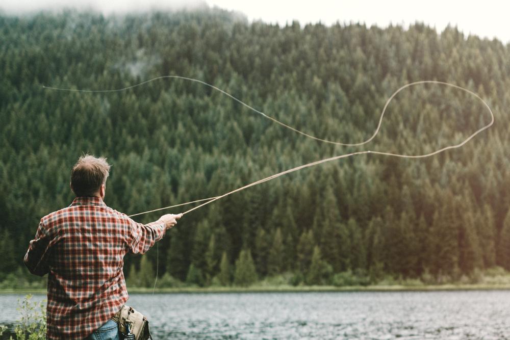 filo pesca a mosca