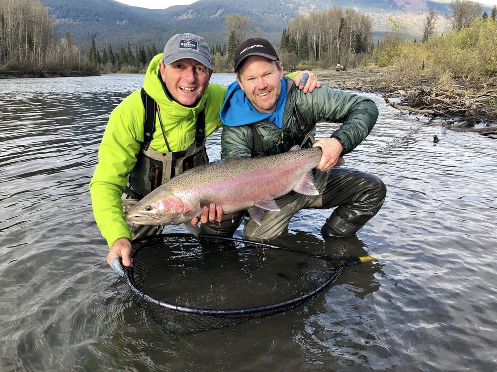 Pesca alla Steelhead in British Columbia