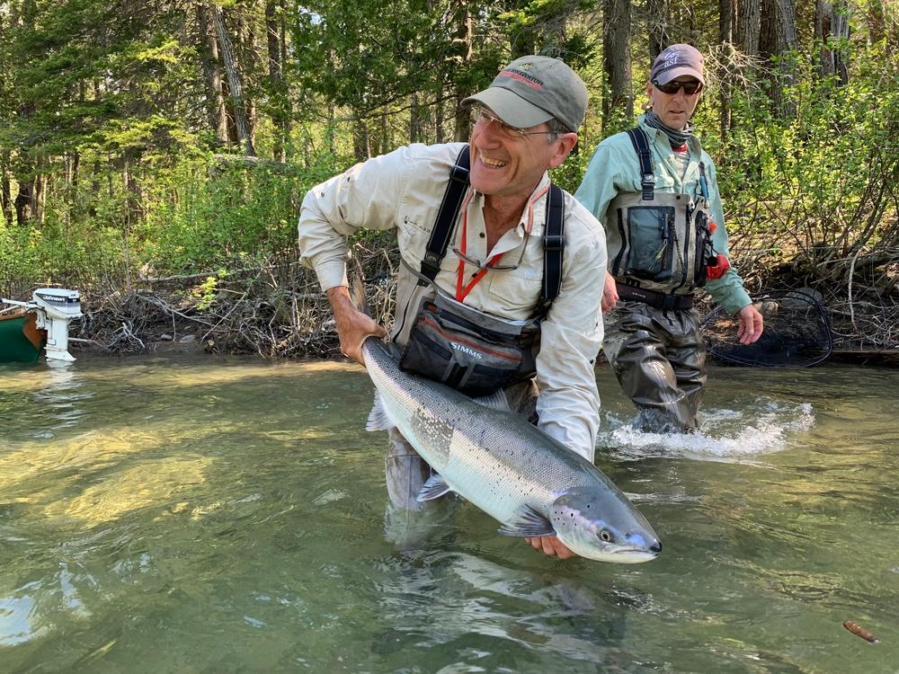 Pescare nella penisola del Gaspè