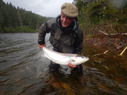 Pesca al salmone Atlantico