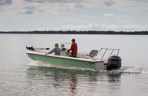 In barca sul Paranà