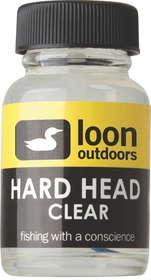 hard head fly finish clear