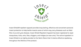 Insect Shield® Technoogy