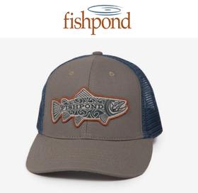 FISHPOND MAORI TROUT TRUCKER HAT - 1