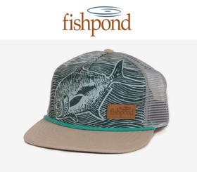 FISHPOND PALOMETA TRUCKER HAT - 1