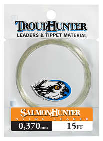 SalmonHunter Nylon Leader 0.370mm 15ft
