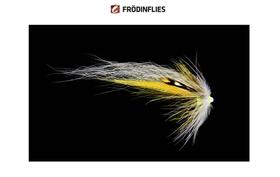 FRODINFLIES BTT NOBODY SERIE Yellow White Wing - 1
