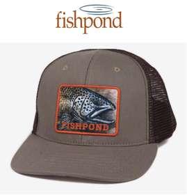 FISHPOND SLAB TRUCKER HAT - 1