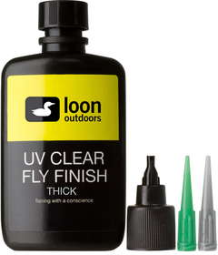 uv clear fly finish thick 2 oz